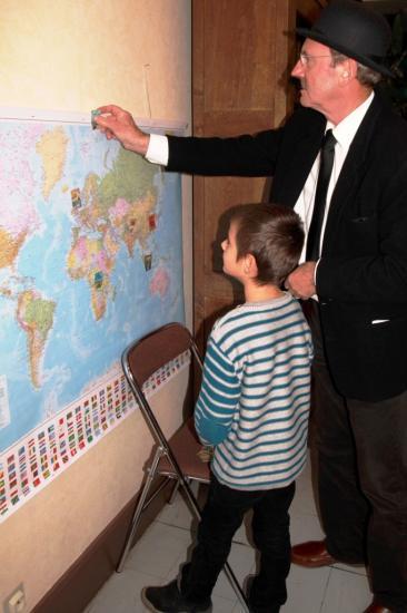 Un peu de géographie ? Quels pays ont été visités par Tintin...