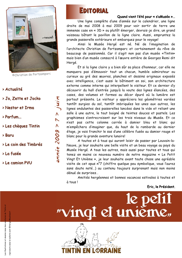 Bulletin n7 juin2009 page1